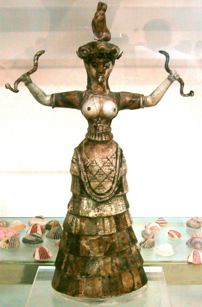 Crete Snake goddess